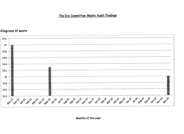 Eco-Commitee Waste Audit Findings